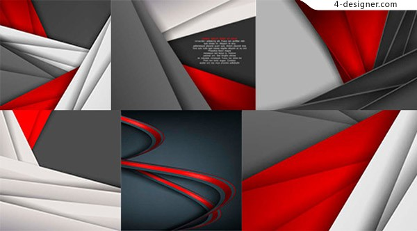 Background vector of origami