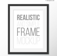 Black frame design