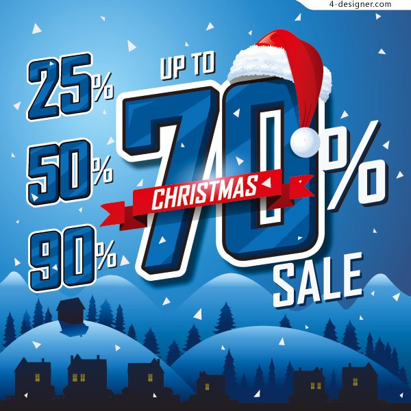 Christmas Promotion Posters
