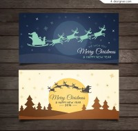 Christmas Sleigh cards