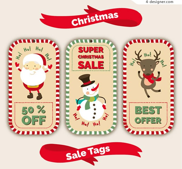 Christmas promotion cards