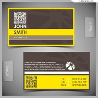 Classic business card design