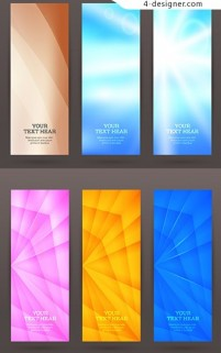 Colorful fashion BANNERS