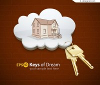 Creative houses and keys