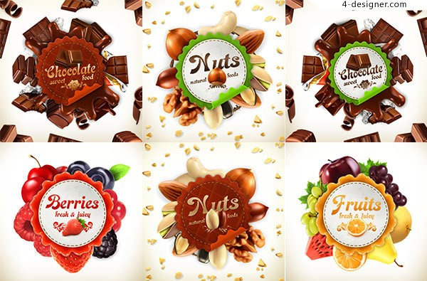 Dried fruit chocolate Icon