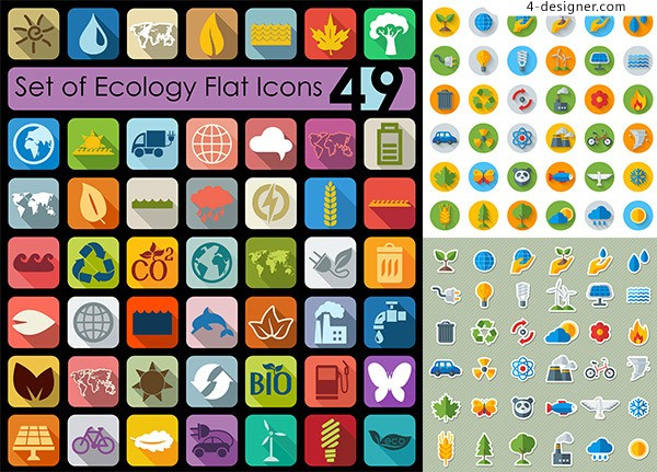 Encyclopedia of life icon vector