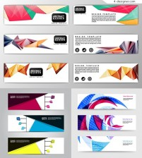 Fashion geometry BANNERS