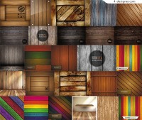 Fashionable wooden background