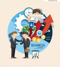 Figure of business information