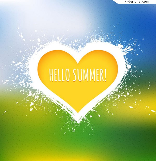 Hello summer yellow love