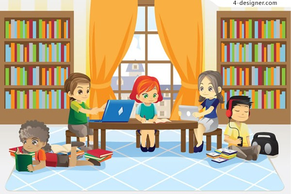Learning children vector