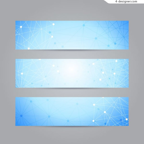Line decoration banner