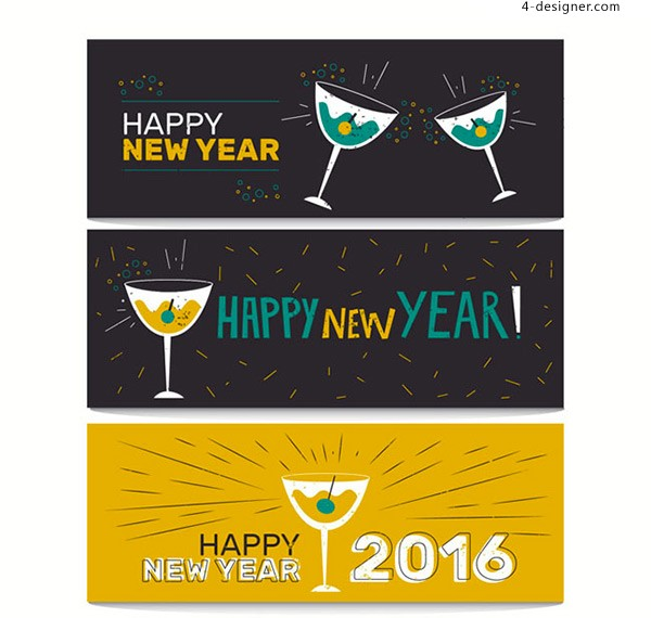 New year cocktail BANNER