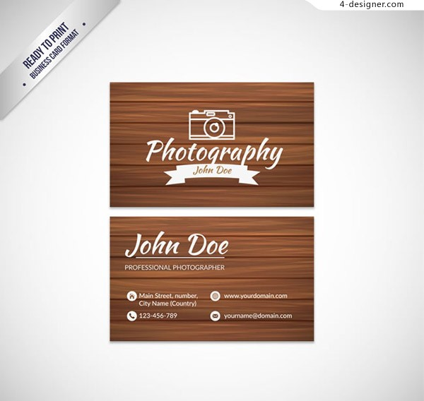 Photographer s card