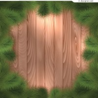 Pine wood decorative background