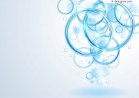 Ring background vector