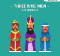 Three kings of cartoons