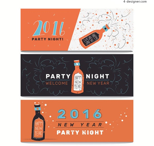 2016 Party Banner