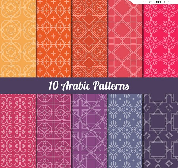 Arabia pattern background