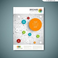 Business brochure cover