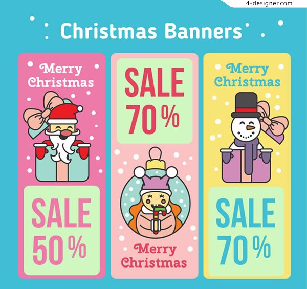 Christmas promotion banner