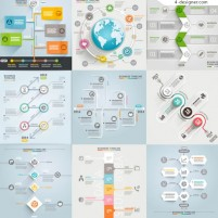 Creative business information map