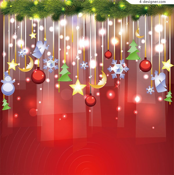Fashion Christmas background
