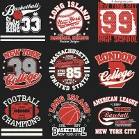 Fashion basketball label
