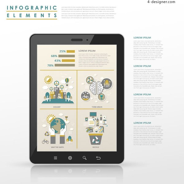 Flat business information map