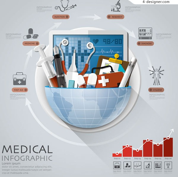 Medical tool information map