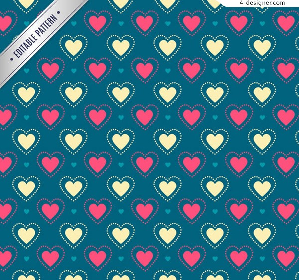 Seamless love background