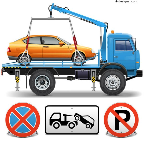 Trailers and traffic signs