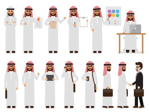 Arab workplace figures
