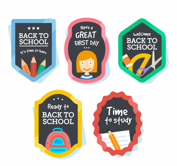Back to school element tags