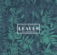 Background of old leaves