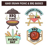 Barbecue and picnic badges