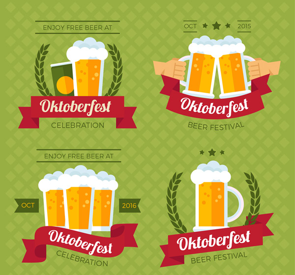 Beer Festival label vector