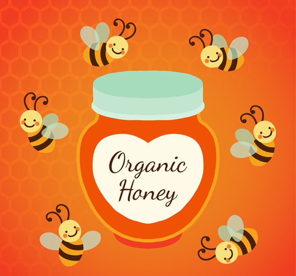 Bees and canned honey