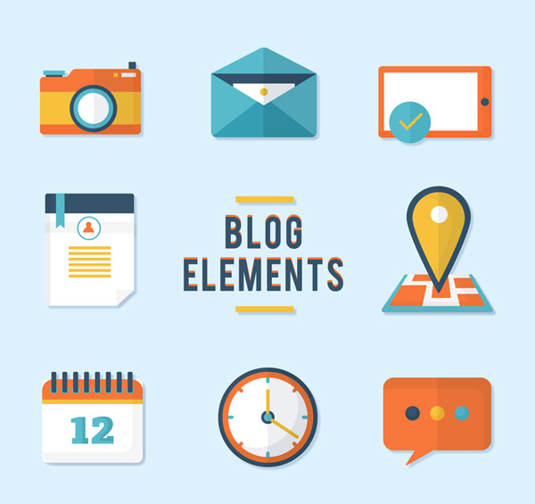 Blog element icon