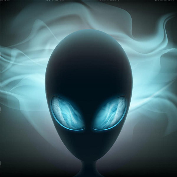 Cartoon alien image