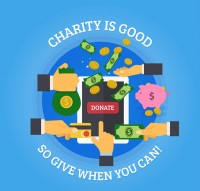 Charity donation Poster