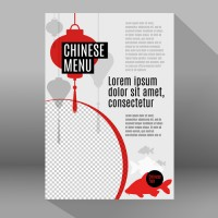 Chinese food theme Poster