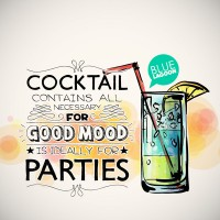 Cocktail party posters