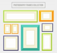 Color photo wall photo frame
