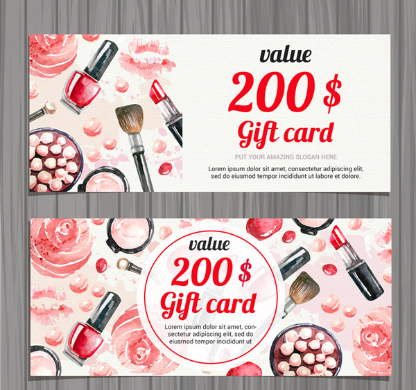 Cosmetic Gift Cards