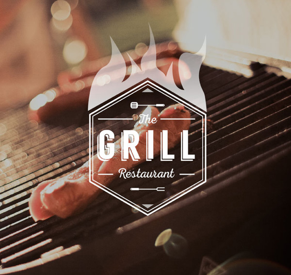 Creative barbecue food Poster