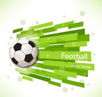 Creative football background