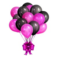 Elegant balloon bundle vector