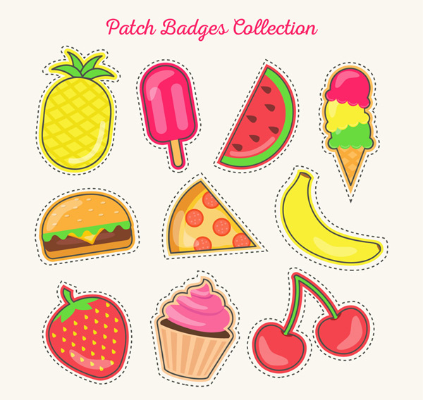 Food patch badge