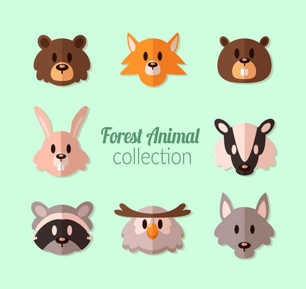 Forest animal head
